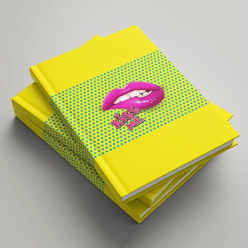 Rokovniki MeMe - Kiss Me