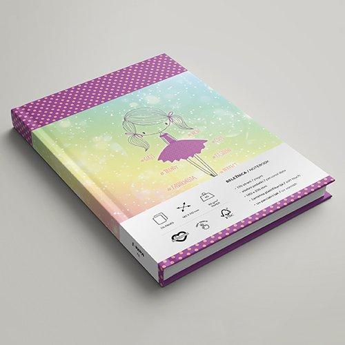 Rokovniki MeMe - Shiny Girl